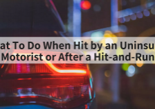 Contact the James Law Firm and work with attorney Fred James. If you've been hit by a uninsured motorist or involved in a hit and run then you may need a lawyer.