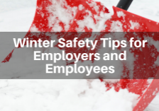 Winter Safety Tips for Employers and Employees James Law Firm