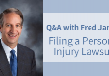 question answers about filing a personal injury lawsuit fred james lawyer attorney des moines iowa